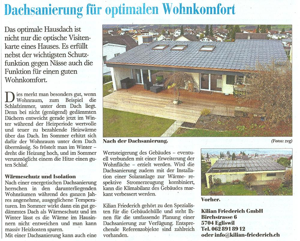 Dachsanierung für optimalen Wohnkomfort